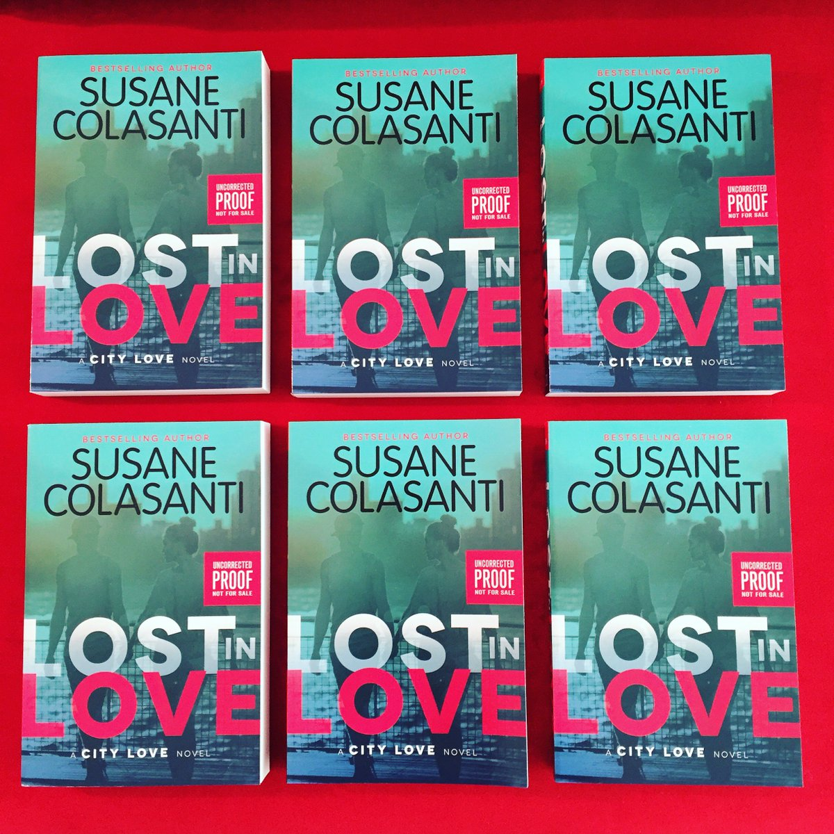 Win a LOST IN LOVE advance copy! To enter the giveaway, follow me and RT. Ends 2.05 at 10pm EST. US only. https://t.co/9ByLwcg1vR