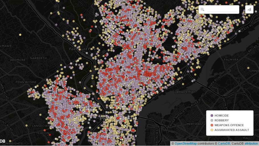 Mapping Philly's Gun Violence