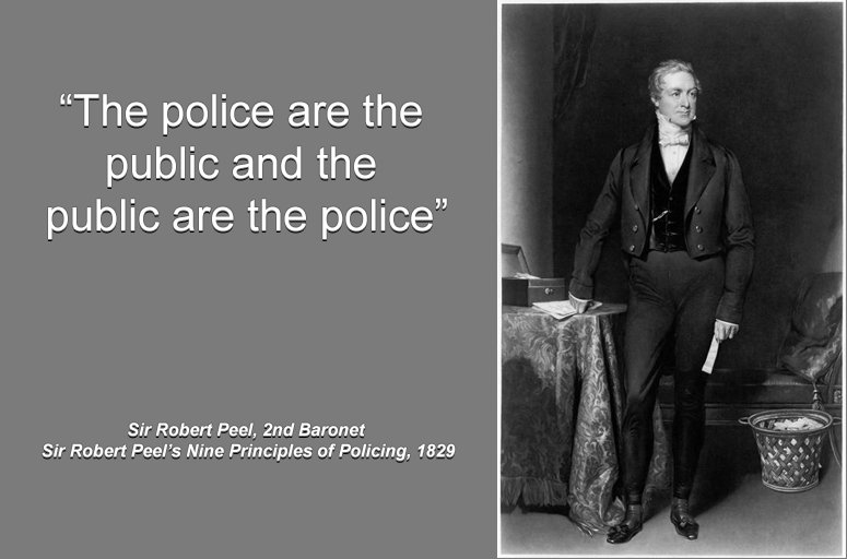 describe sir robert peel s effect on american policing Write a 700- to 1,050-word paper describing the history of police include the following in your paper: • describe the impact of sir robert peel on american policing.