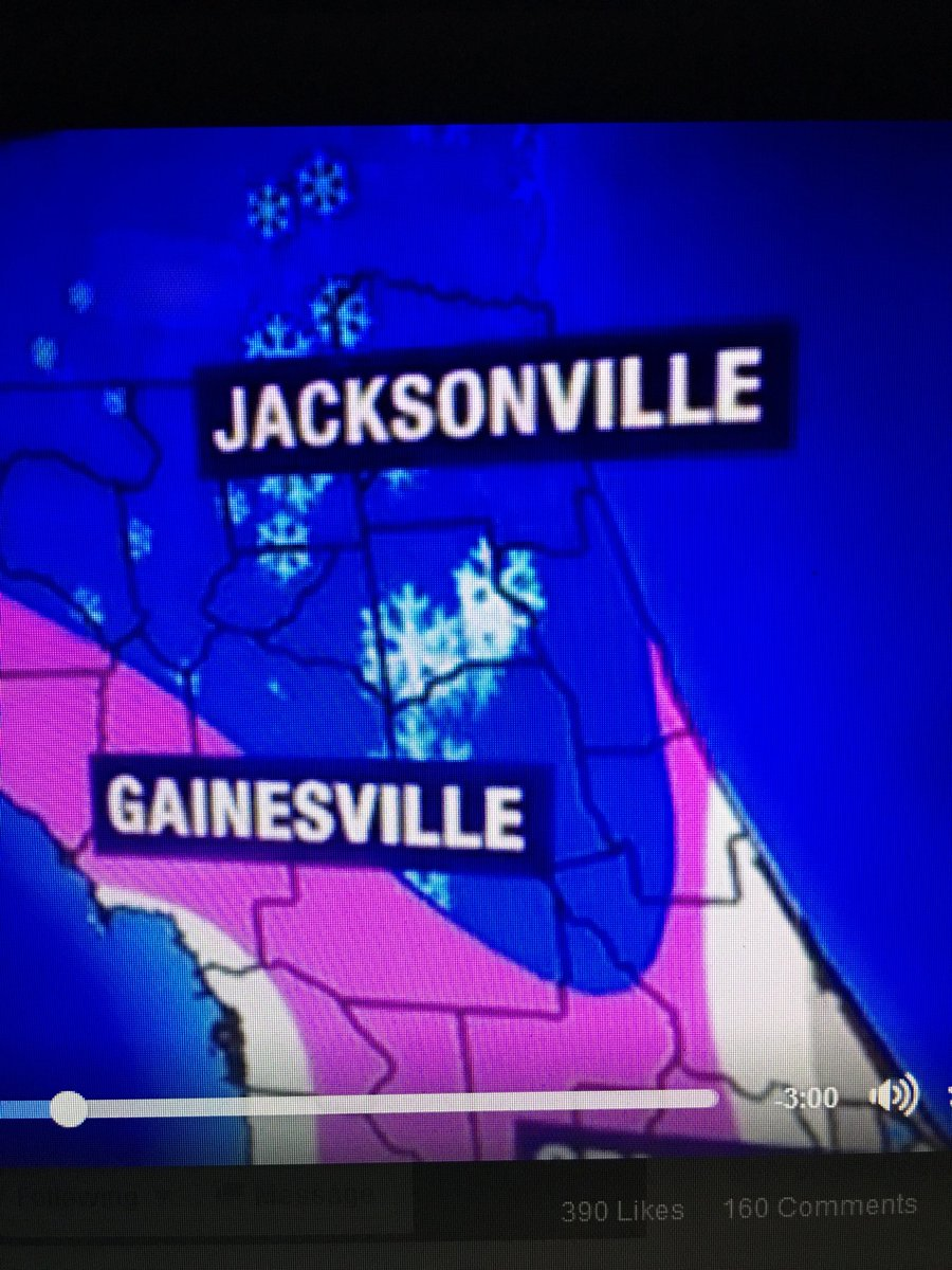 @AshvsEvilDead Ash makes ONE bullshit deal and now look! It's going to SNOW in JACKSONVILLE?!? https://t.co/qxaxNG5PCJ