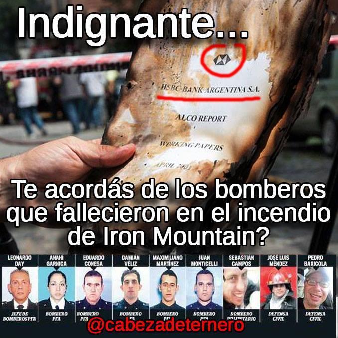 Se suicidaron dos bomberos sobrevivientes a Iron Mountain