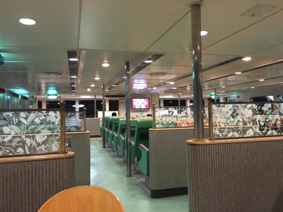 桜島フェリーはいたって普通だけど。普通に出港したしw https://t.co/yeaaNZ2rmG