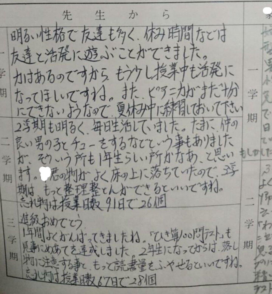 小学1年生の時の 忘れ物大杉 https://t.co/nMgGSQNM1P