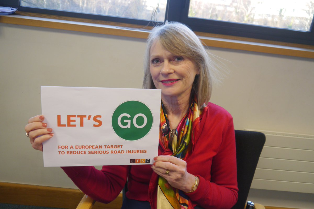 .@LesleyUphamIAM backs #letsgo @ETSC_EU call for an EU serious road injuries target https://t.co/87ZqeIRZpe. https://t.co/FgDRcBUmpe