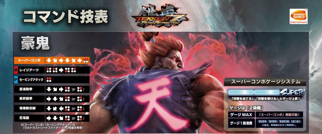 Akuma Thread Akuma Matatta Tekken Zaibatsu Forums