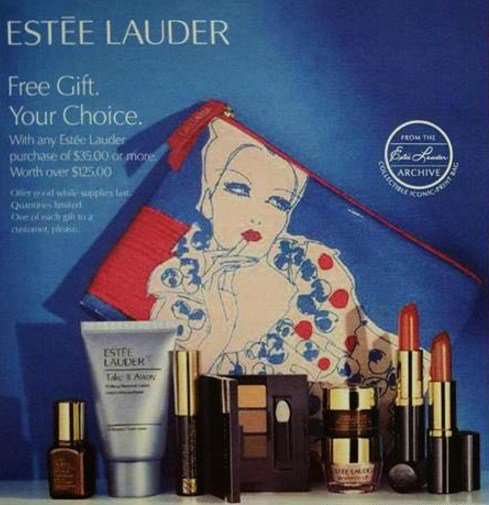 Estee Lauder Gift With Purchase Addict - Gift Ideas