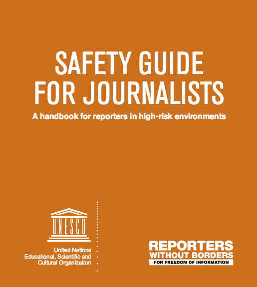 New safety guide for journalists from @UNESCO and @RSF_RWB https://t.co/L7g3IlKc1o https://t.co/LWDWyCh4Qi