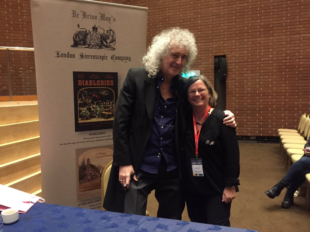 With 3 rockstar astronomers at #astrofest @DrBrianMay @DrStuClark @mggtTaylor #spacerocks https://t.co/VGKBffO9fa