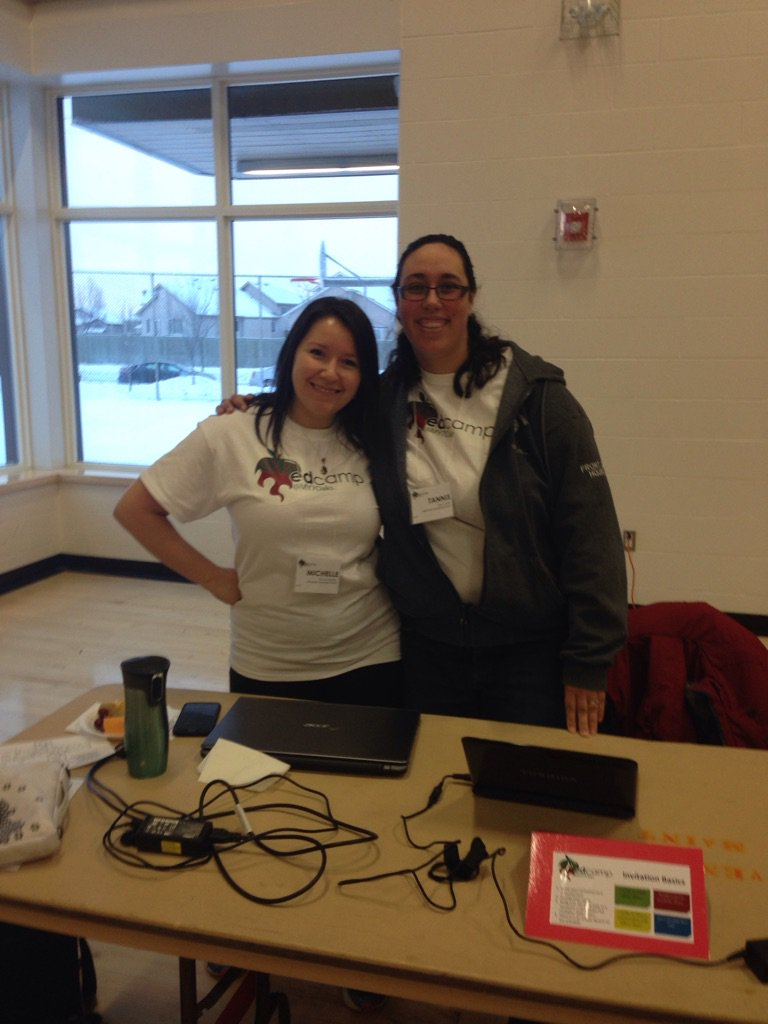 EdCamp 0fficials getting the tech ready for the day! #MY7Oaks https://t.co/3lfjevlYdh