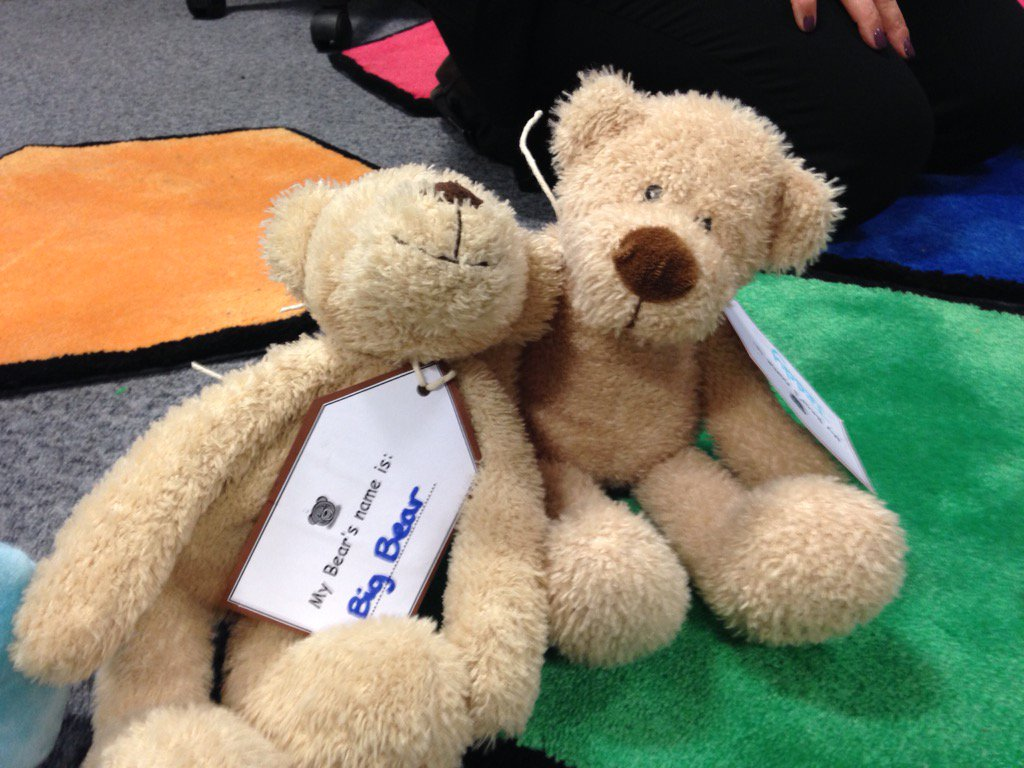 And we have twins! Big bear and teddy! #librariesday https://t.co/T5Oga7WOE7