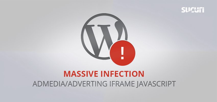 Massive Admedia/Adverting iFrame Infection https://t.co/aiMcyAfkkv by @unmaskparasites #iframe #malware #injection https://t.co/ui7Q7GogCm