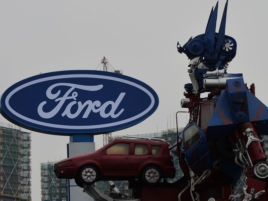 @Ford January China sales up 36%, setting monthly record