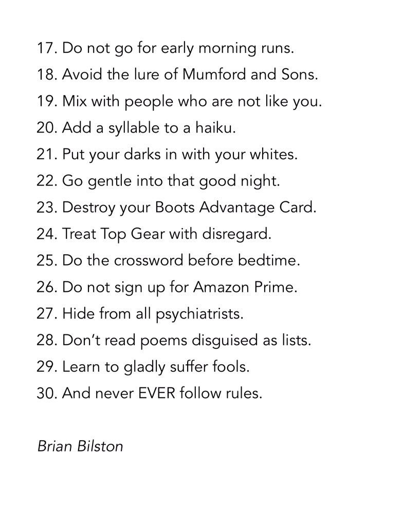 Brian Bilston on Twitter: