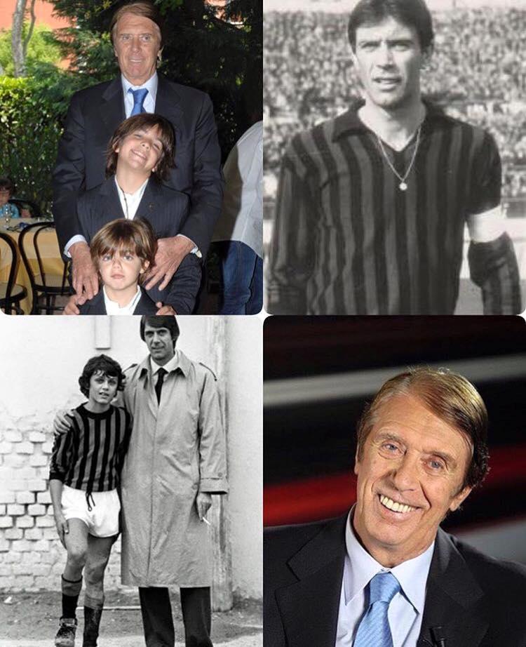 c4aa3002bbecd Um dos maiores ídolos do Milan e do futebol Italiano completa 84 anos hoje.  Tanti