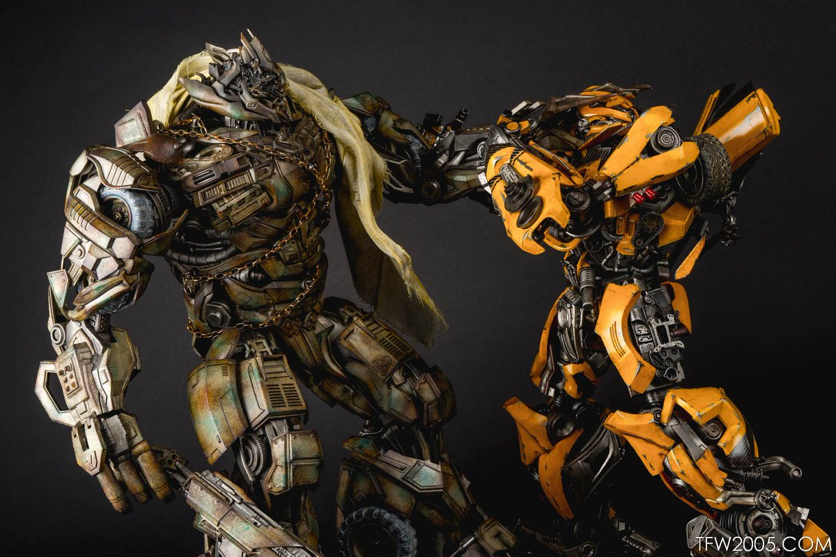 "TFW2005 on Twitter: ""Megatron vs Bumblebee - Part 1! ICYMI ...