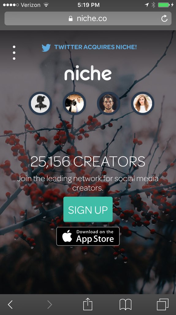 We now have over 25K creators on the @JoinNiche platform and we are just getting started!