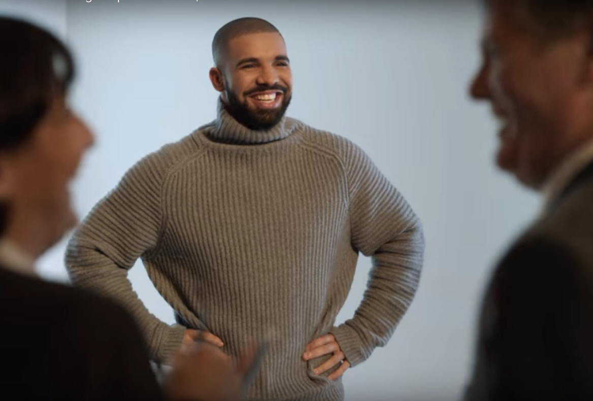 "RT @Slate: Drake's ""Hotline Bling"" gets all restricted in new Super Bowl commercial: https://t.co/pITkEfbhrg https://t.co/wPgLjZeo7o"