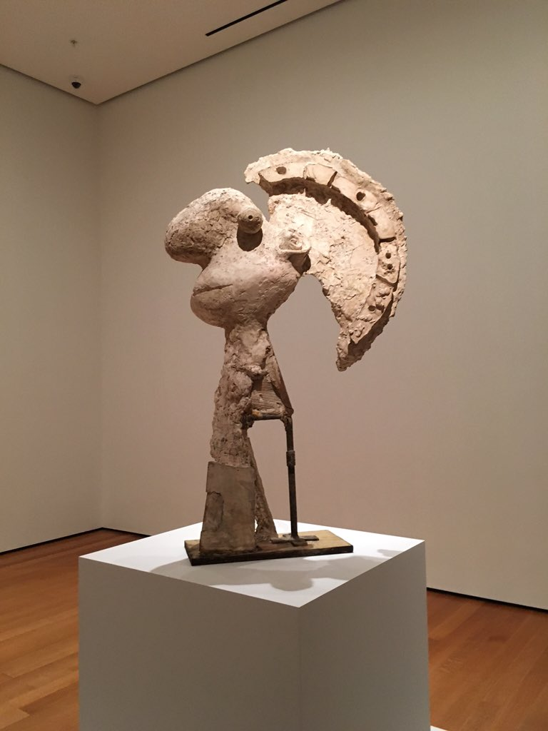 Great to close out the week with a visit to #picassosculpture at @MuseumModernArt https://t.co/FLqE56z3Hd