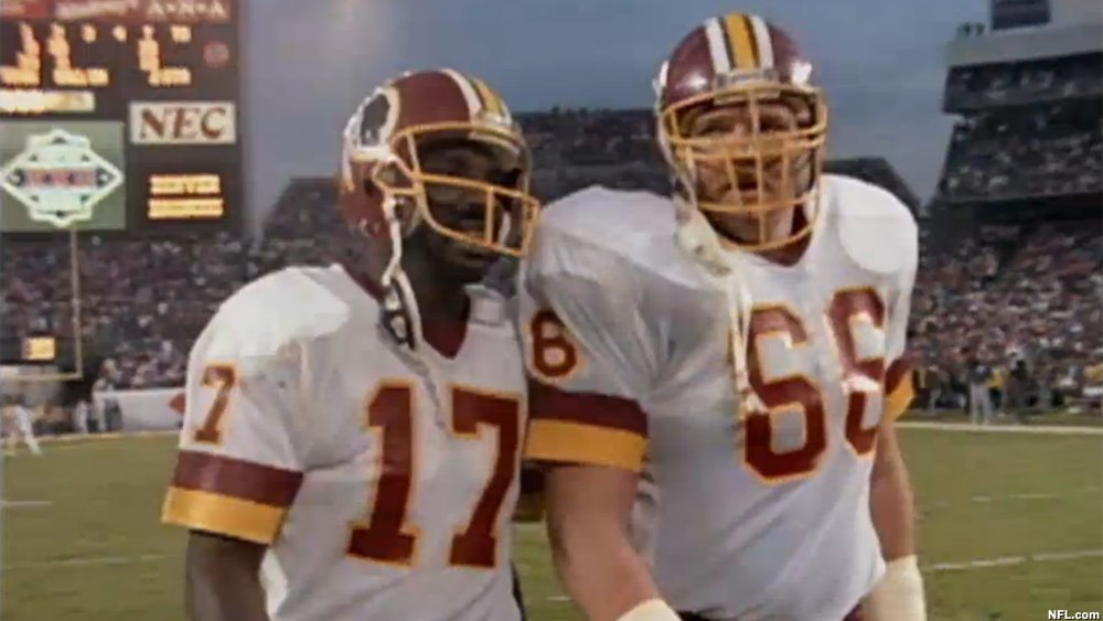 The black QB question asked of Doug Williams at SBXXII? Never happened. @bkravitz was there