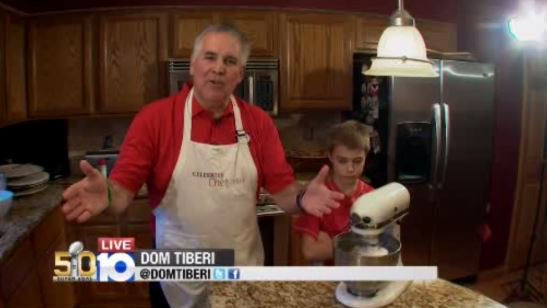 Watch @DOMTIBERI make his famous pizza live on 10TV | Get the recipe