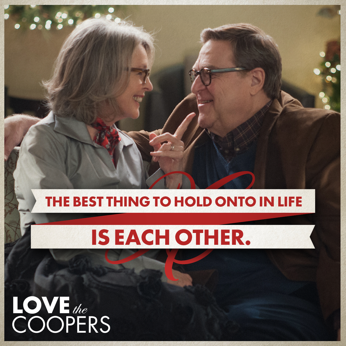 Stick together with your other half! #LoveTheCoopers https://t.co/Ikh0cht92x