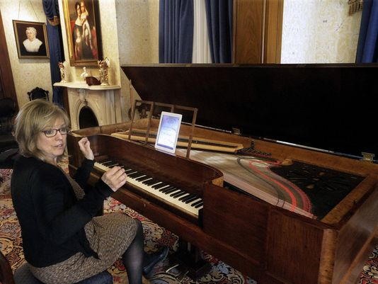 Piano likely heard by Lincoln to play again
