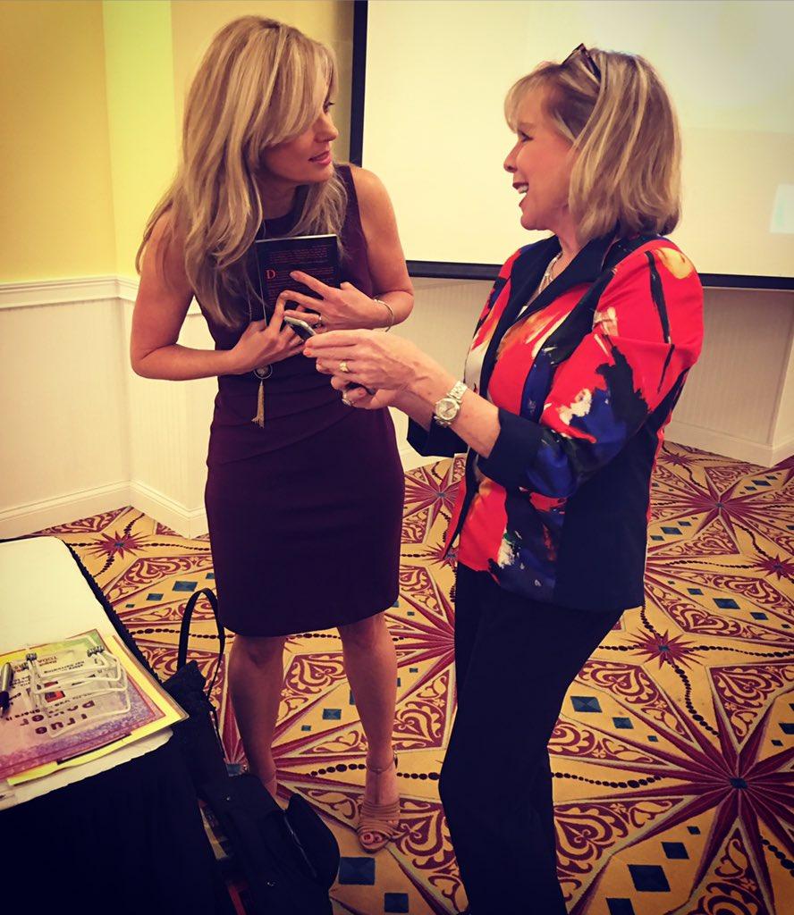 Amazon Speaker @lindaleelarsen is my SheRo' Helped me lots when I started my #speaking career. #ABWA Conference. https://t.co/jBQZxr0UnL