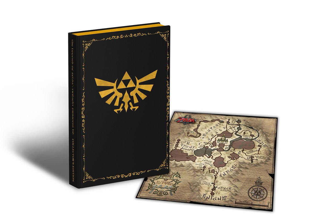 Peek at the Collector's Edition guide cloth map in The Legend of Zelda: Twilight Princess https://t.co/6wiaOS9cnt https://t.co/jBQyR0UxYk