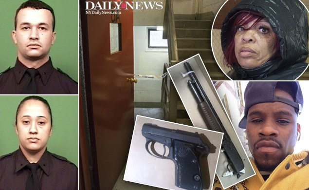 The BX cop shooter kissed his girlfriend one last time before killing himself