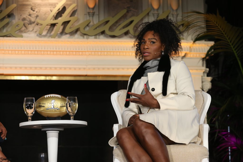 """Sports develop discipline and teach you to work hard."" -@serenawilliams #InTheHuddle https://t.co/Qvkz3eyE0P"
