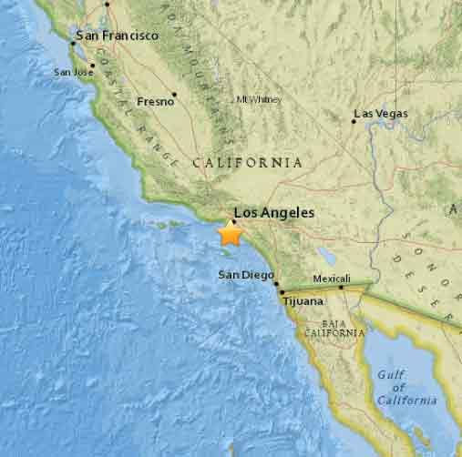 EARTHQUAKE Preliminary magnitude 2.7 quake hit 1 mile south, SW of Rolling Hills, USGS says. Did you feel it?