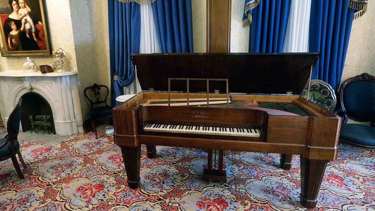 180-year-old piano likely heard by Lincoln to play again