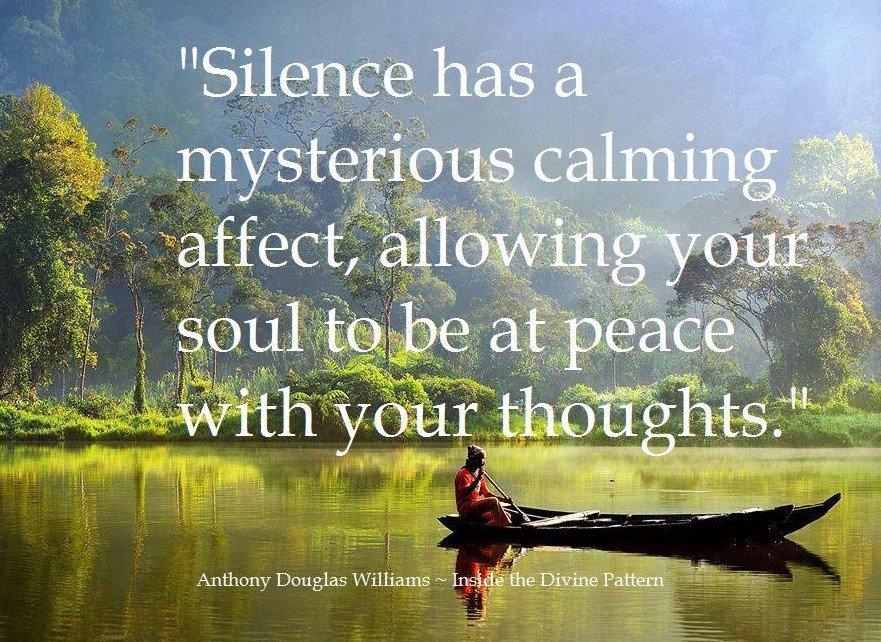 Sunita Chadha On Twitter Silence Has A Mysterious Calming Affect