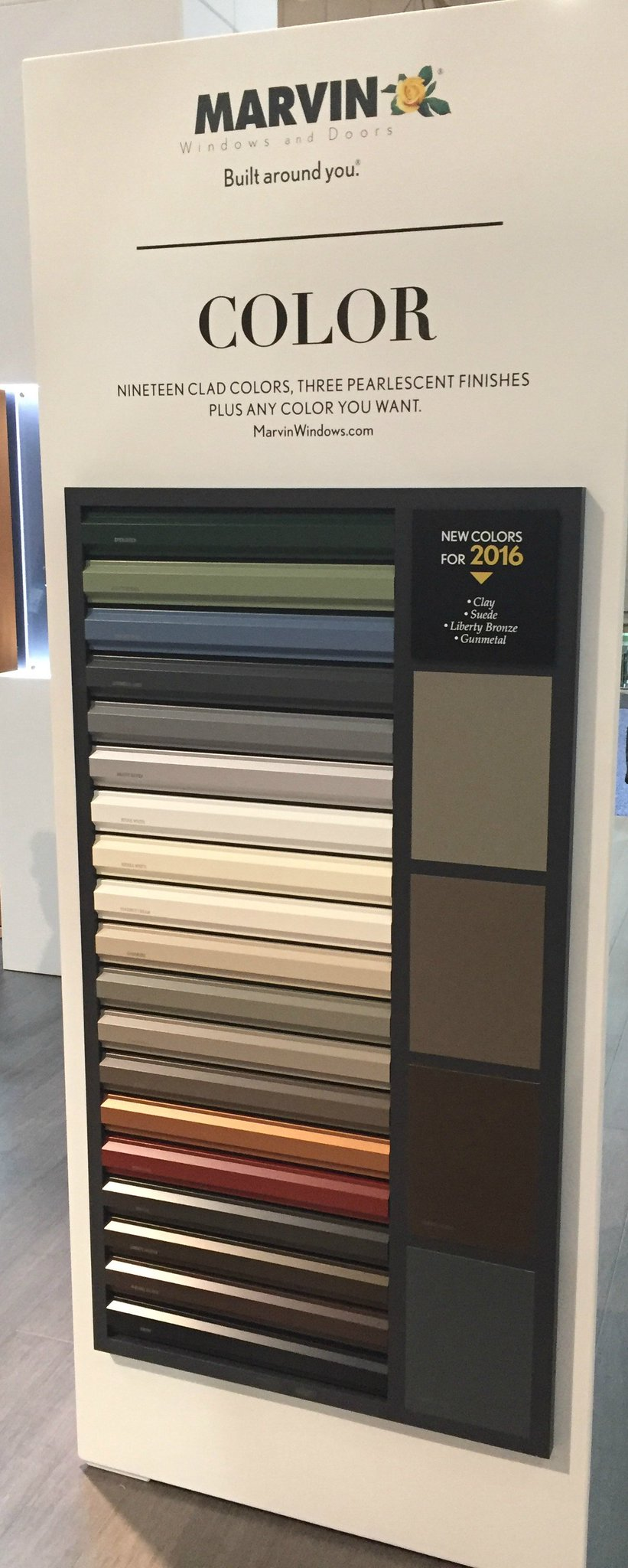 Marvin Windows On Twitter Liberty Bronze Suede Clay New In 2016 Marvinwindows Has 19 Clad Colors Inspired By The Natural World