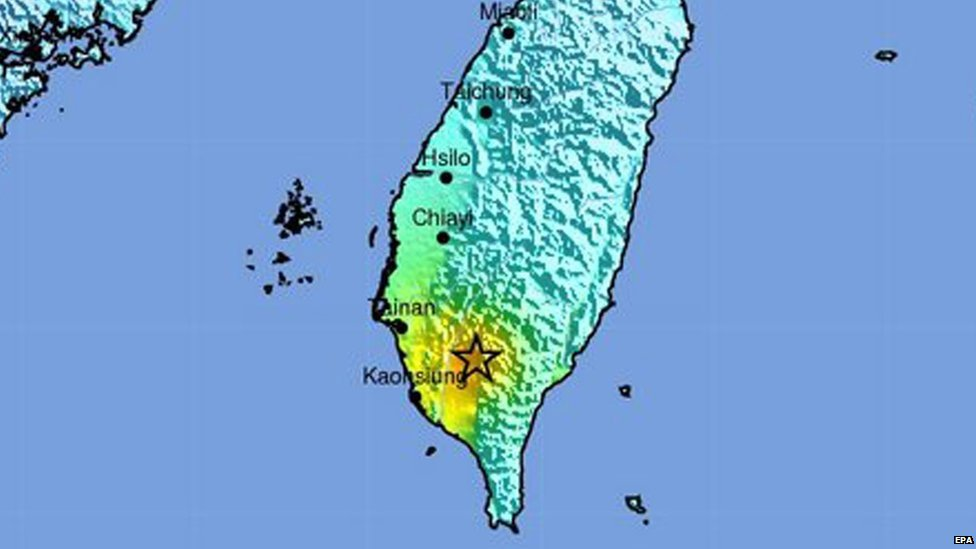 Earthquake measuring 6.4 hits Taiwan https://t.co/efKWhgxdbK https://t.co/o78DbpYW8t