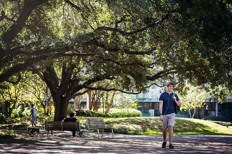 University of Houston Main Campus Recognized Nationally for Its Beauty