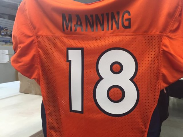 Colorado school district bans Manning's No. 18 jersey at schools because of the number