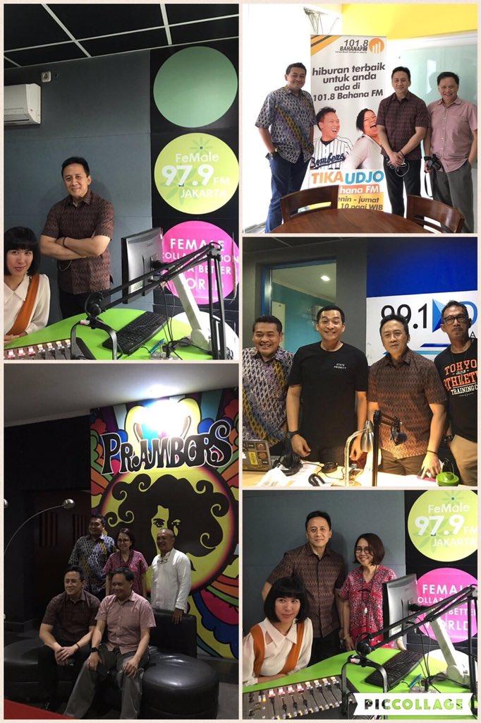 Thanks to pak @Triawan chairman @BekrafID for visiting @Prambors @979FeMaleRadio @Delta_FM and @bahanafmjkt https://t.co/EMMnyEgSOq