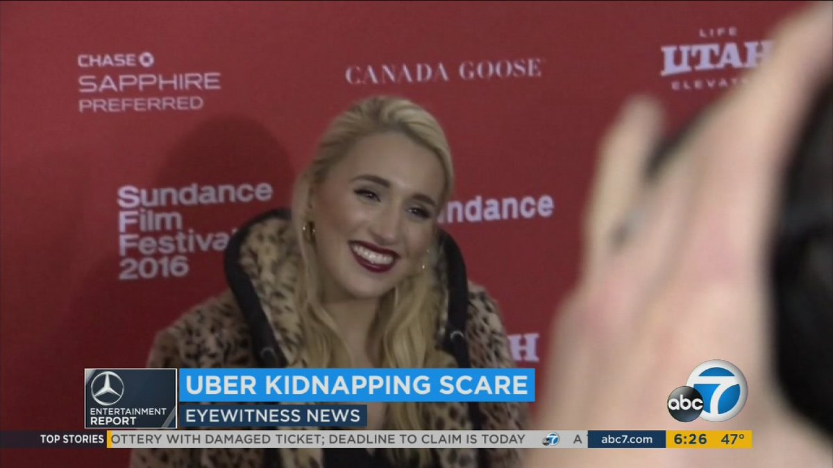 Harley Quinn Smith opens up about encounter with fake Uber drivers in Brentwood