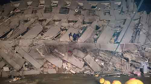 TAIWAN UPDATE: 6.4-magnitude quake causes at least 2 buildings to collapse