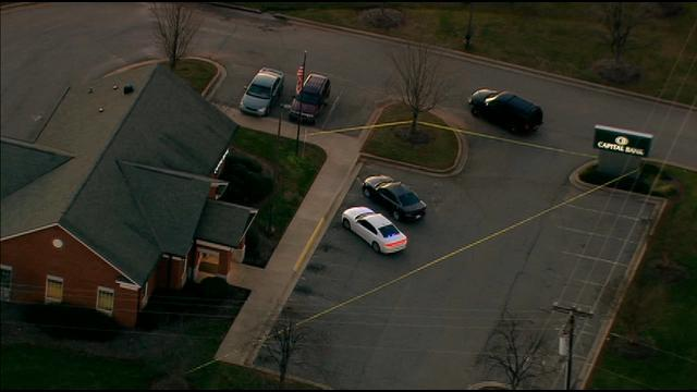 CHOPPER 9: Authorities search for bank robber in Iredell County