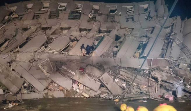 More on the 6.4-magnitude earthquake that hit southern Taiwan