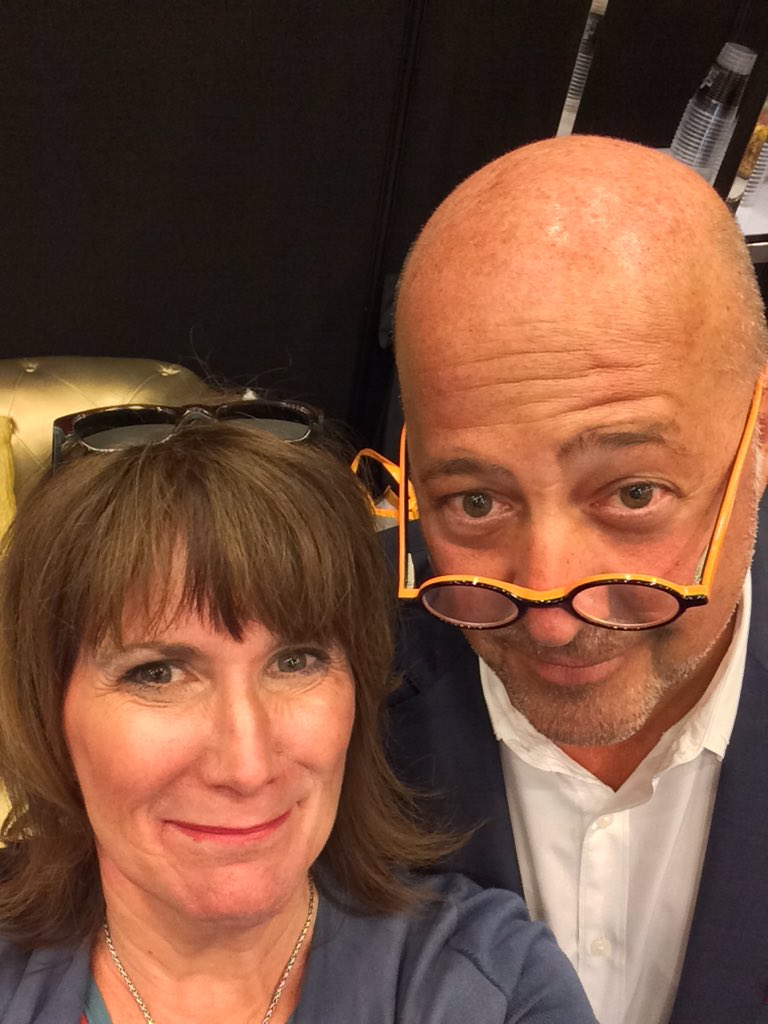 "If you're gonna do ""food"" at the Super Bowl ... You gotta bring @andrewzimmern @ChefAZimmerman #SB50 https://t.co/InYBGtvsKC"