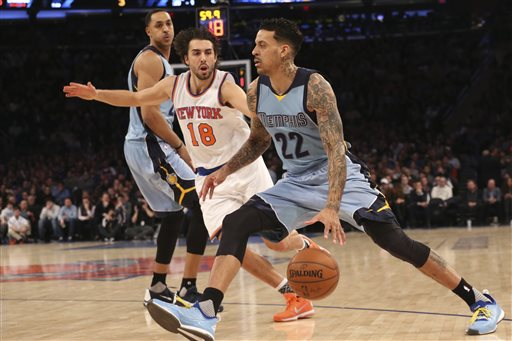 Balanced scoring propels the Grizzlies past the Knicks, 91-85