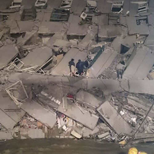 UPDATE: Rescuers pull 160 people from rubble of TaiwanQuake; more people trapped inside