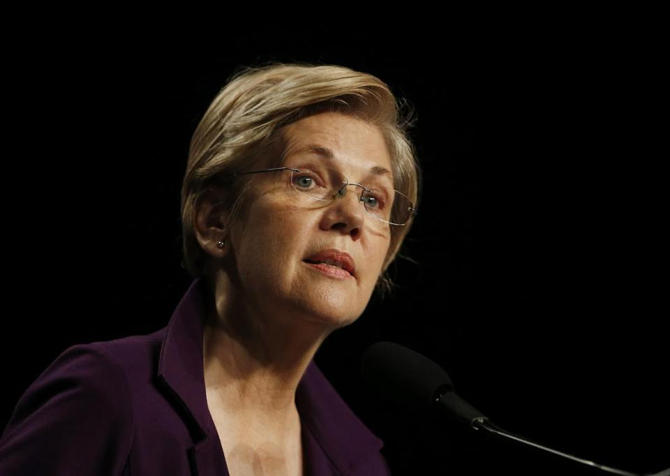 @SenWarren jumped to the defense of @BernieSanders and blasted the CEO of @GoldmanSachs