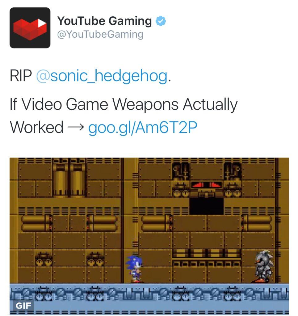 Shots fired. @sonic_hedgehog https://t.co/Vmx6mvSXyZ
