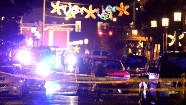 Officer shot, killed in downtown Seaside