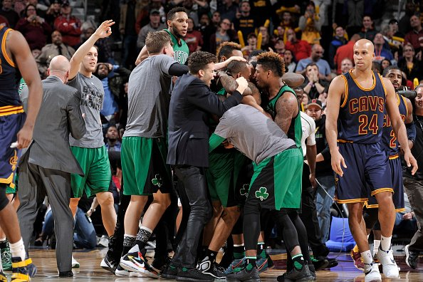 Celtics have four game-winning buzzer-beaters since start of last season, most of any team