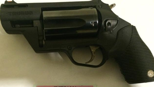 Man arrested after a .45/.410 revolver is found in his carry-on luggage at Midway Airport